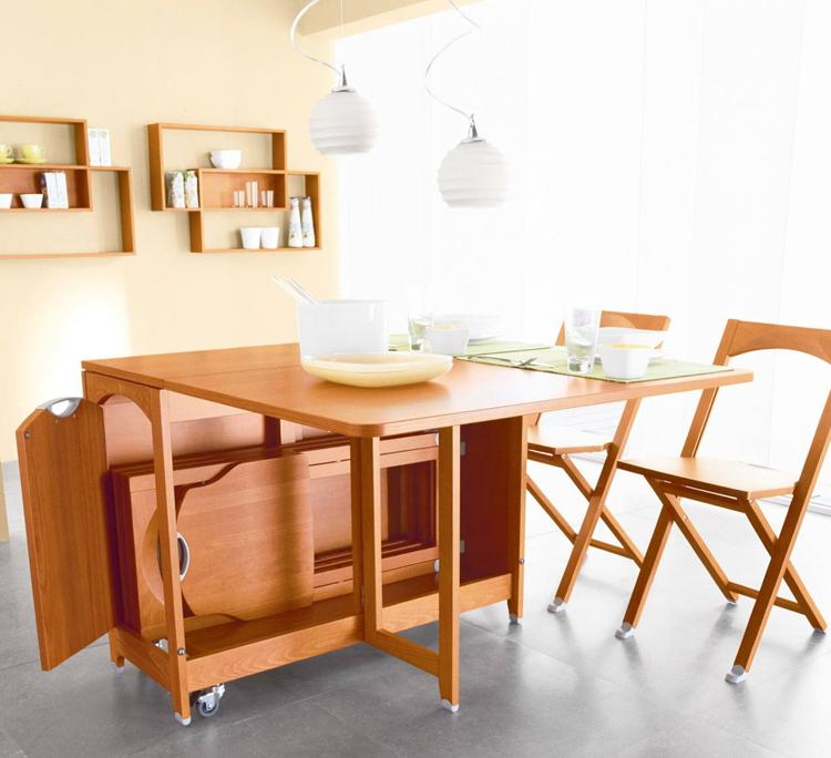 Обустройство кухни удобной мебелью