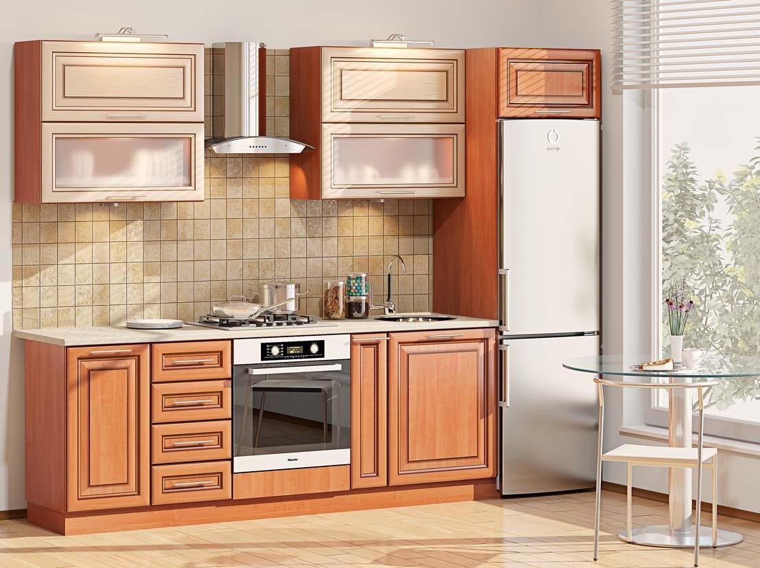 Обустройство просторной кухни
