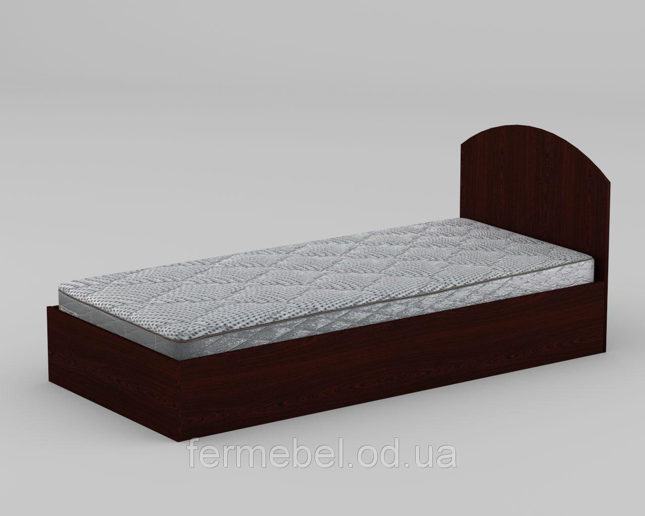 Односпальная кровать из древесно-стружечной плиты