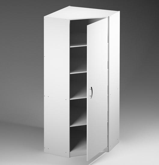 Офисный угловой шкаф