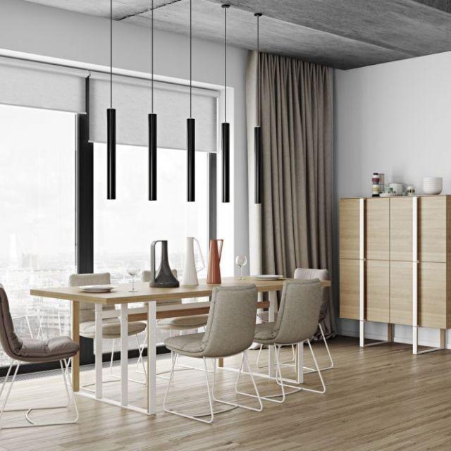 Оформление обеденной зоны с помощью современной мебели