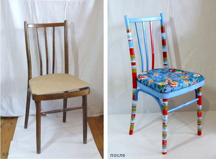 Окрашивание мебели в разнообразные цвета