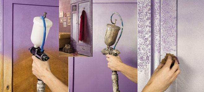 Окрашивание покрытий современной мебели
