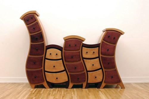 Оригинальная и необычная мебель от Джадсона Бомонда