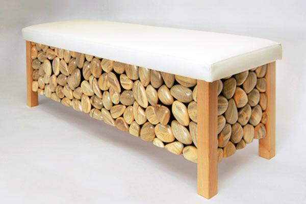 Оригинальная мебель из «больной» древесины