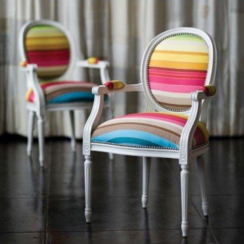 Оригинальная обивка стульев
