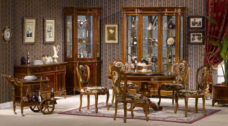 Оригинальные предметы мебели для столовой