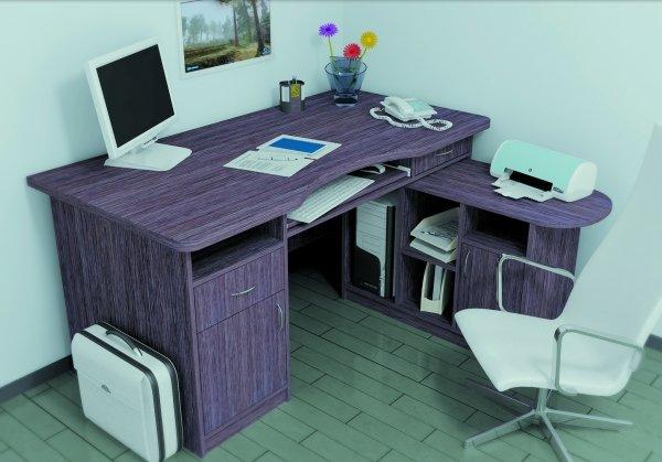 Оригинальный оттенок корпусного стола