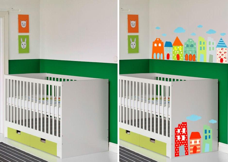 Особенности оформления детской мебели