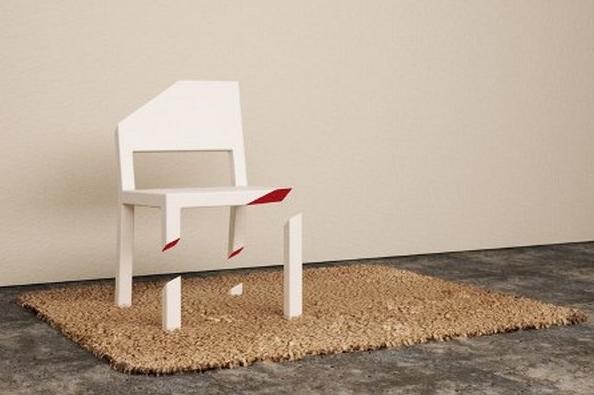 Особенности применения креативной мебели