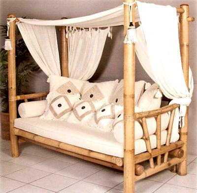 Оживите интерьер с помощью бамбука