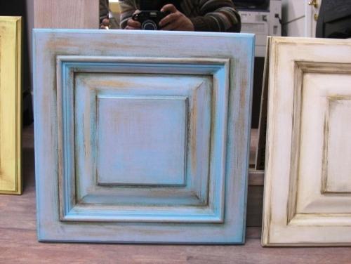 Патинирование мебели