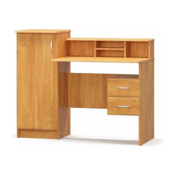 Письменный стол с практичными полками