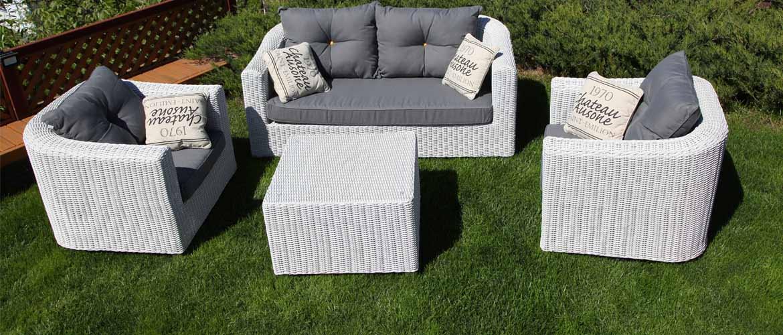 Плетеные предметы мебели для ежедневного применения