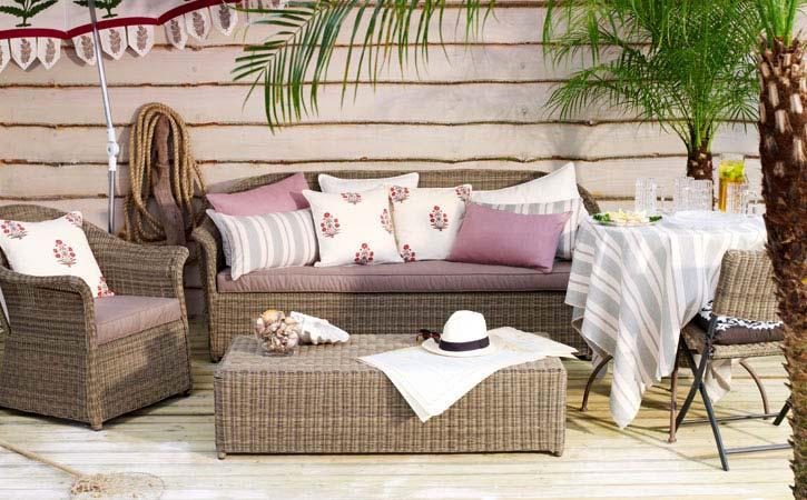 Плетеные предметы мебели