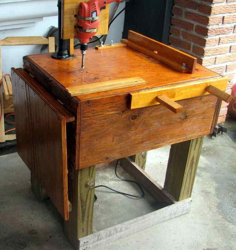 Подготовка стола для создания оборудования