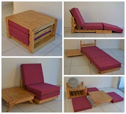 Практичный раскладной стул для дома
