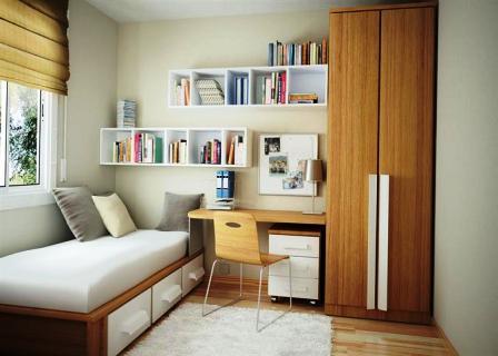 Правила размещения мебели в малогабаритной комнате