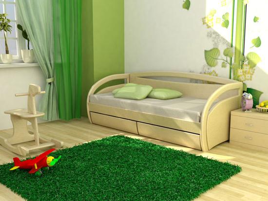 Правильно выбираем кровать для ребенка