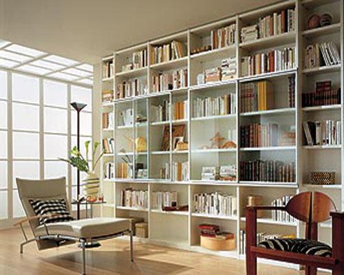 Правильно выбираем шкафы для хранения книг