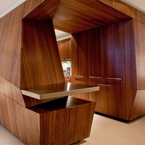 Преимущества мебели из шпона