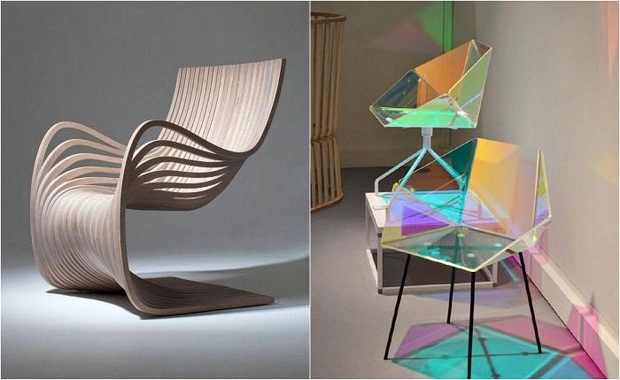 Примеры оригинальных стульев