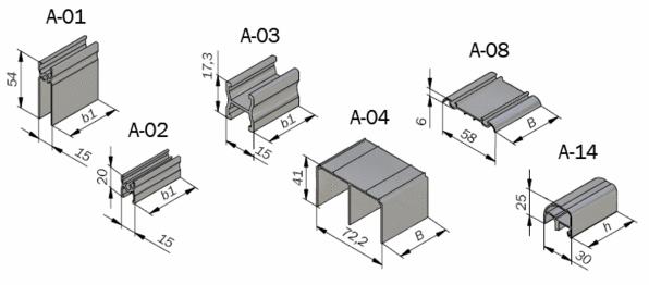Профиль для мебели