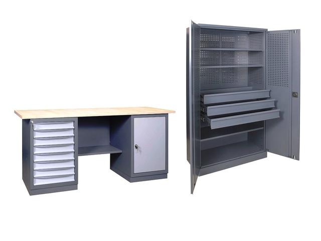 Промышленная мебель на основе металла