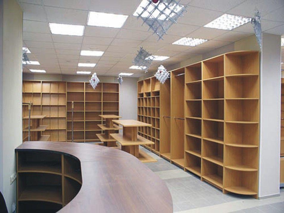 Просторные прямые шкафы для библиотеки