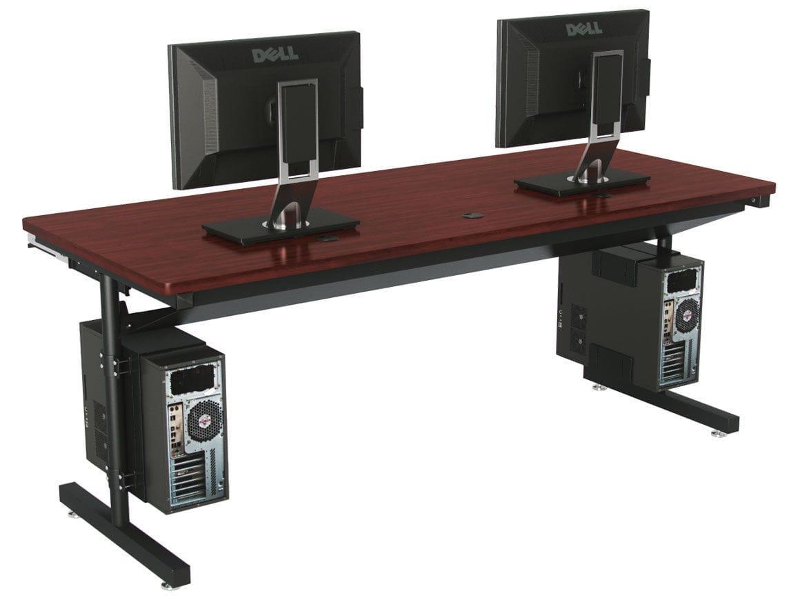 Прямоугольный стол для компьютера