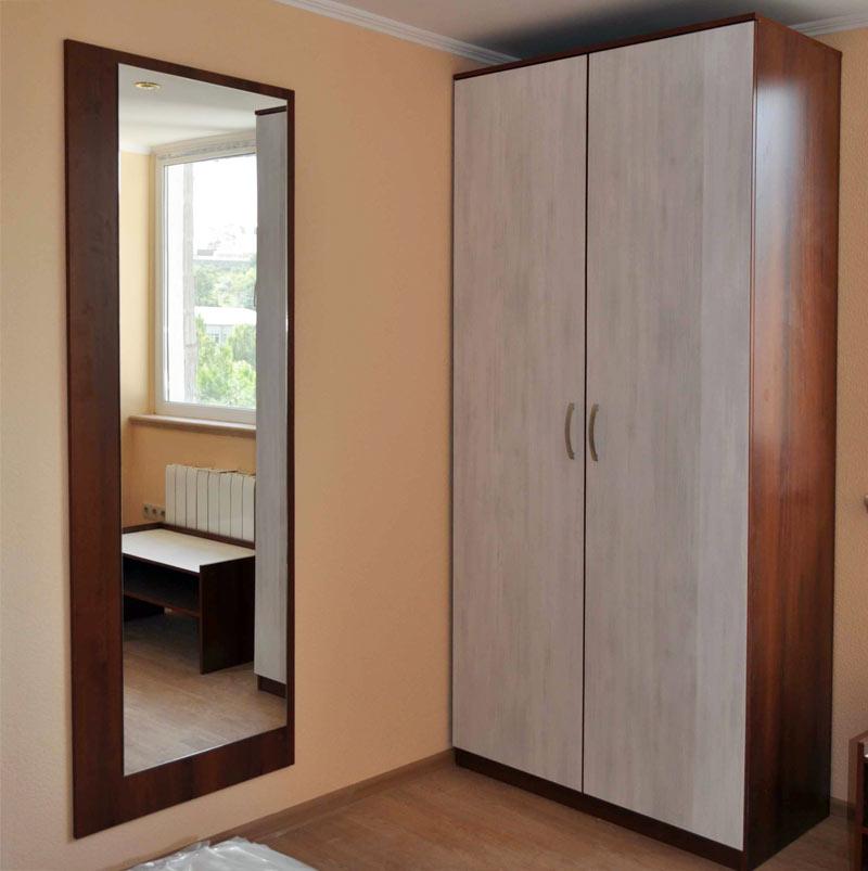 Распашной шкаф в интерьере