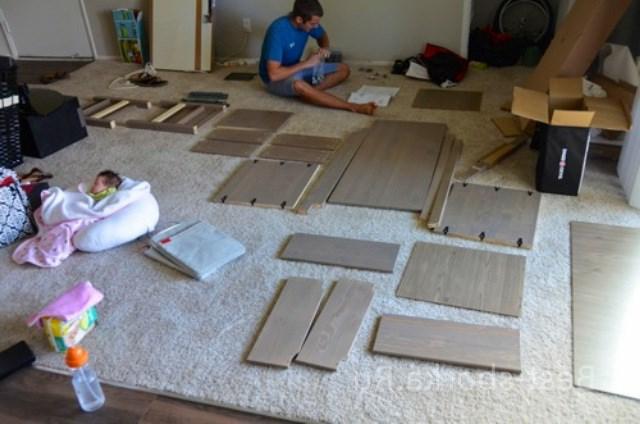 Разбираем мебель для покраски