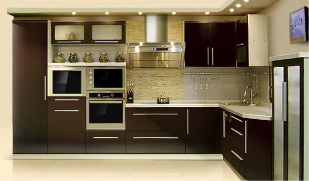 Размещение мебели в кухне