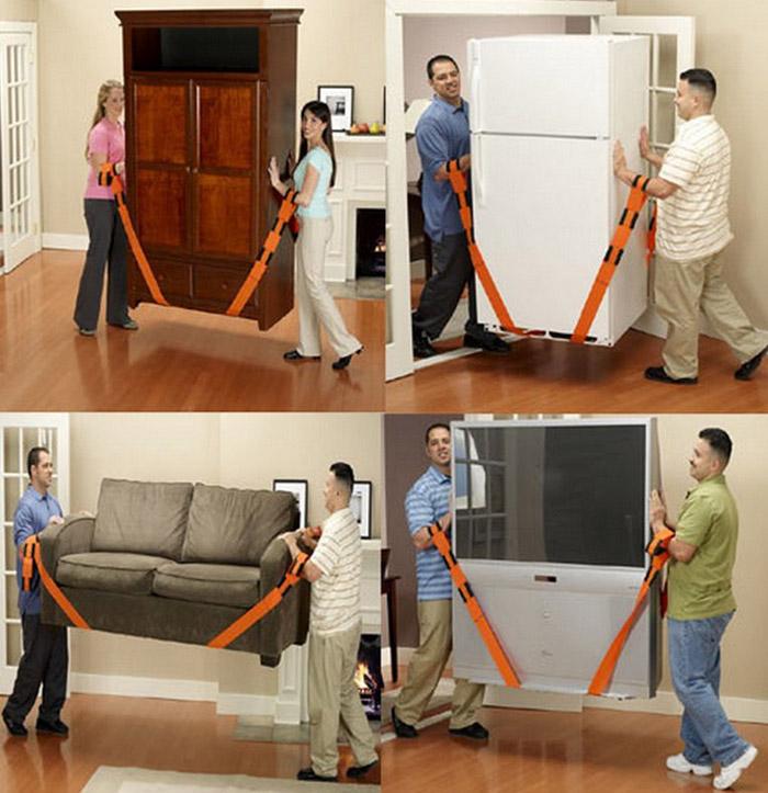 Ремни для перемещения мебели