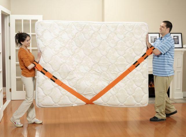 Ремни для переноски мебели фиксирующиеся на предплечье