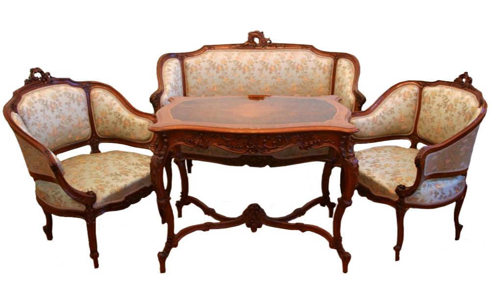 Рококо (мебель и предметы интерьера)