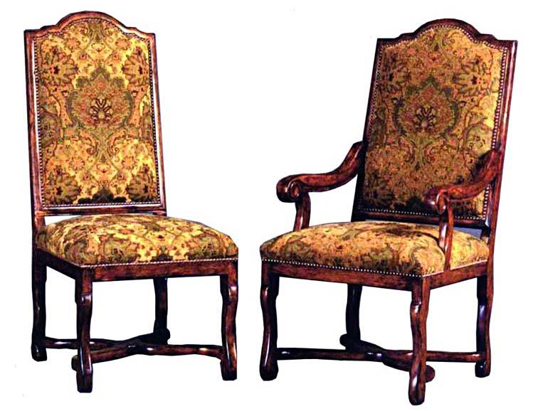 Роскошная дворцовая мебель с инкрустацией эпохи Людовика XIV