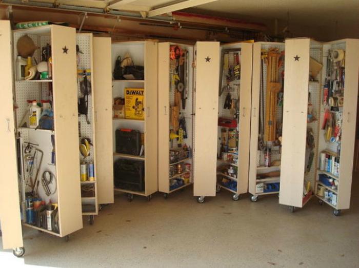 Шкафы для хранения инструментов