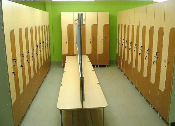 Шкафы для спорткомплекса
