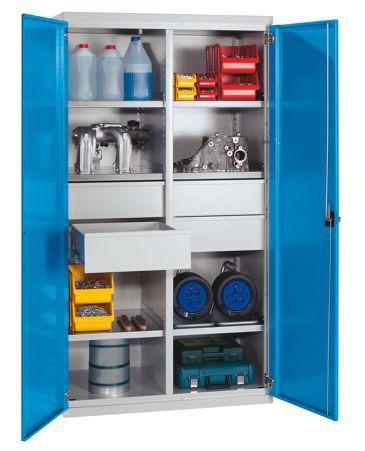 Шкафы металлические для инструмента компактные