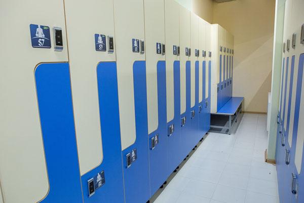 Шкафы с электронными замками