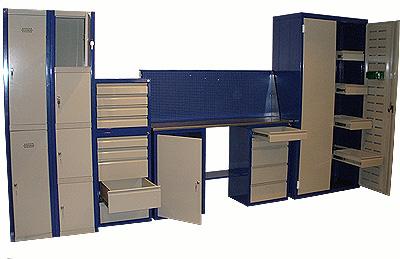 Шкафы с практичной системой хранения
