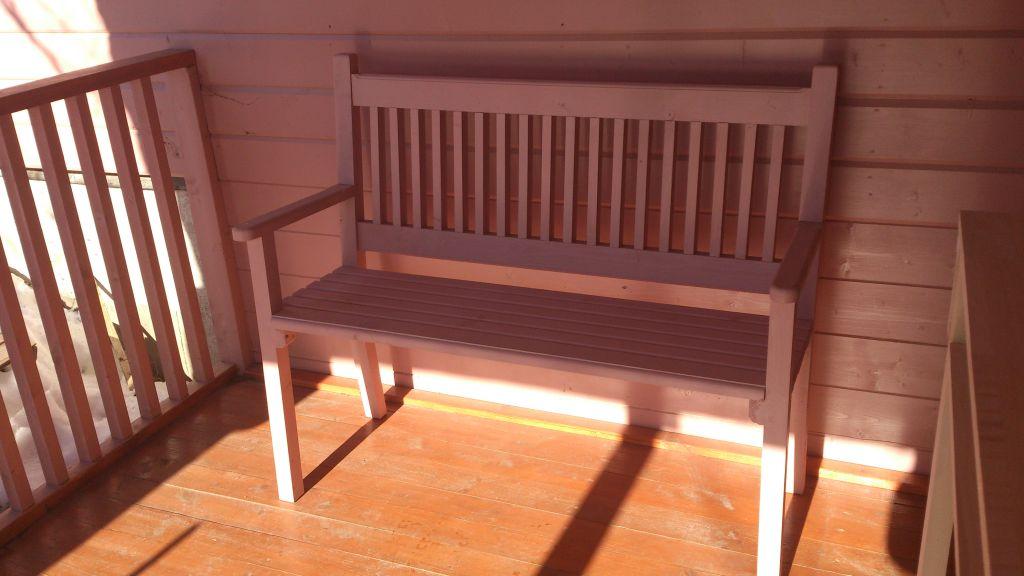 Садовая мебель из лиственницы