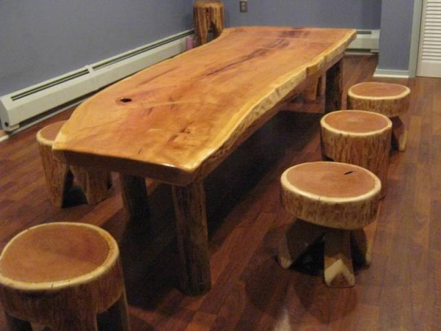 Самодельная мебель в столовую