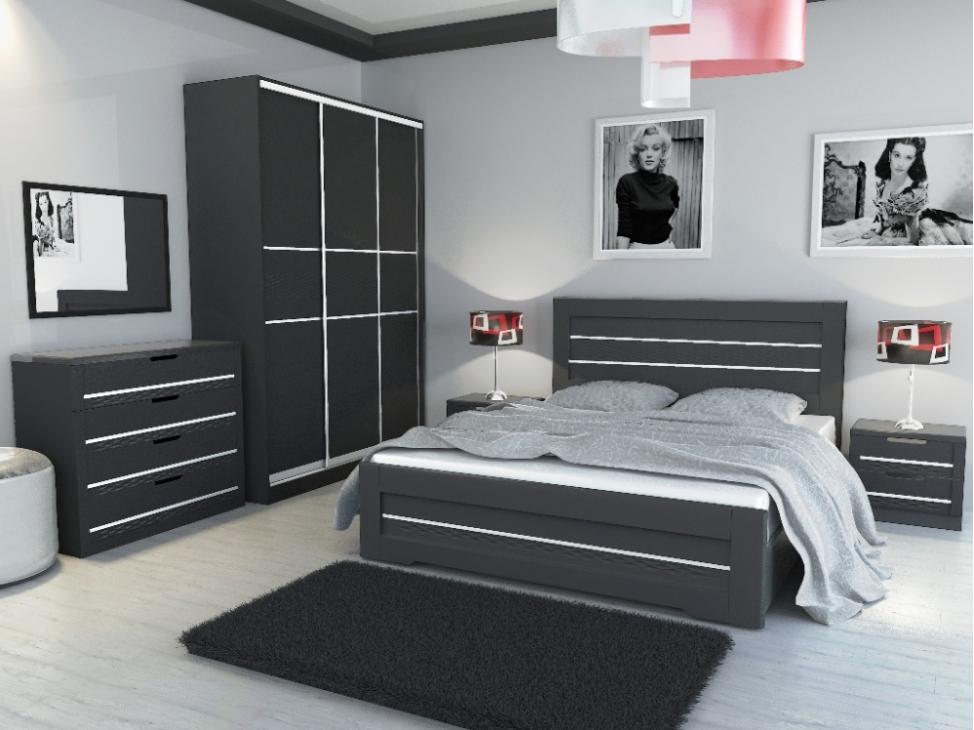 Серые оттенки интерьера комнаты