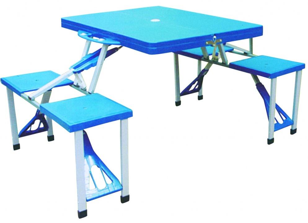 Синие предметы мебели для улицы