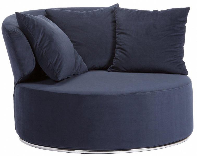 Синяя мягкая мебель