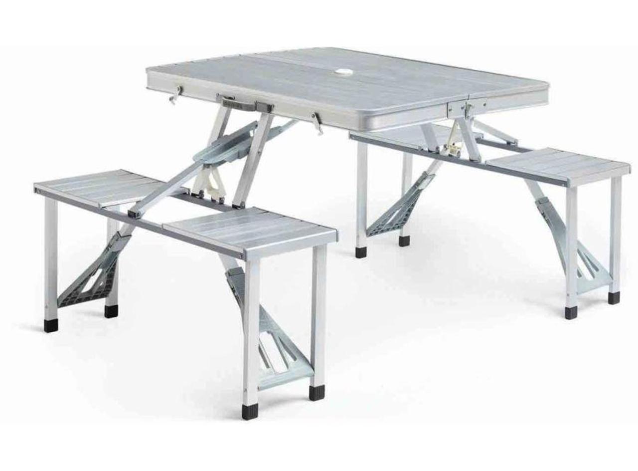 Складная современная металлическая мебель