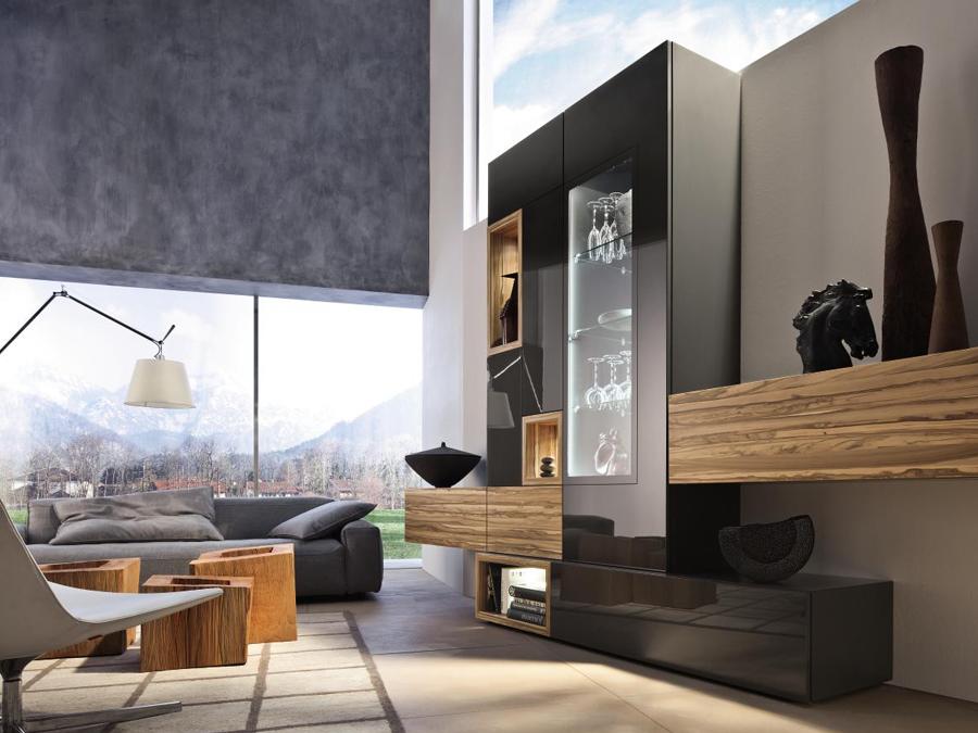 Современный выбор – немецкая мебель для гостиных
