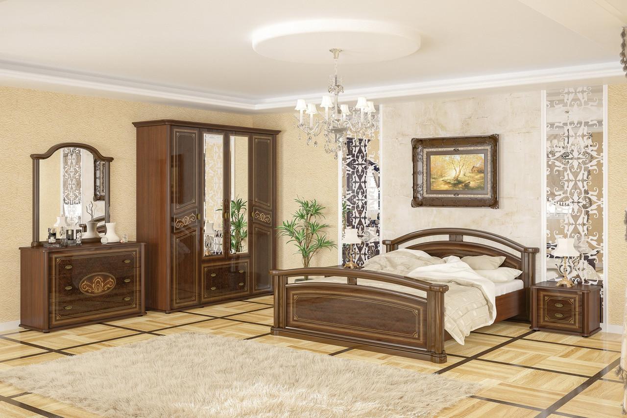 Спальня с практичной мебелью МДФ